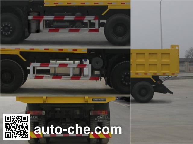 SAIC Hongyan CQ3255HTG364BS dump truck