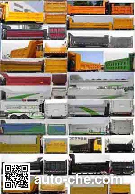 SAIC Hongyan CQ3255HTG384B dump truck