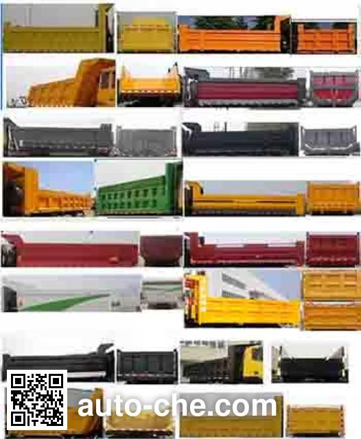 SAIC Hongyan CQ3255HTG444 dump truck