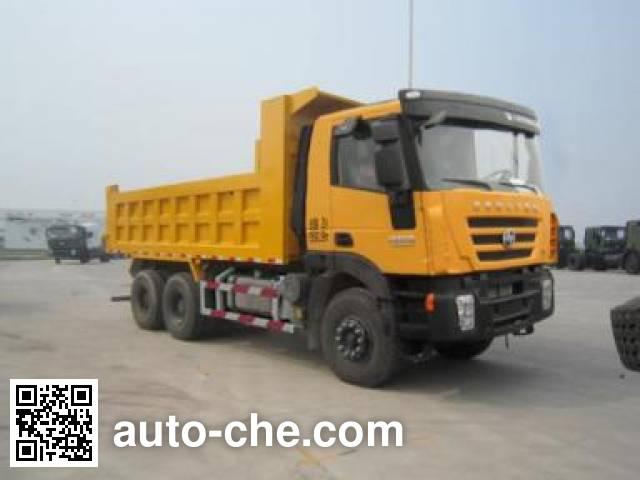 SAIC Hongyan CQ3255HTG474 dump truck