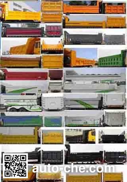 SAIC Hongyan CQ3255TRG414 dump truck