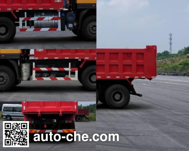 SAIC Hongyan CQ3256HMDG384S dump truck
