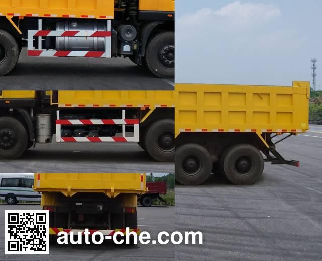 SAIC Hongyan CQ3256HMVG384AS dump truck