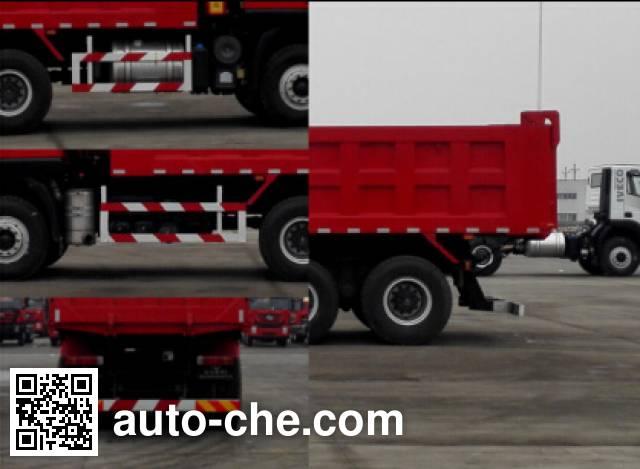SAIC Hongyan CQ3256HMVG384L dump truck