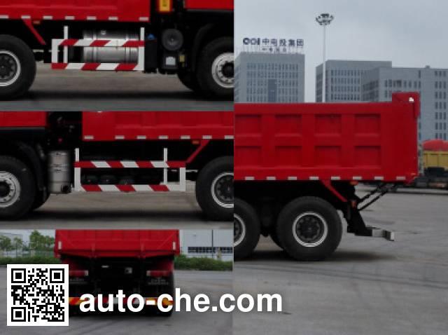 SAIC Hongyan CQ3256HMVG384LA dump truck