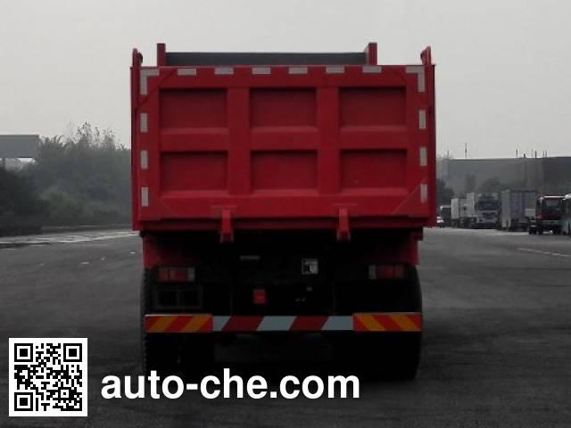 红岩牌CQ3256HTDG364S自卸汽车