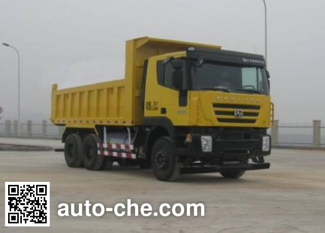 SAIC Hongyan CQ3256HTG384TB1 dump truck