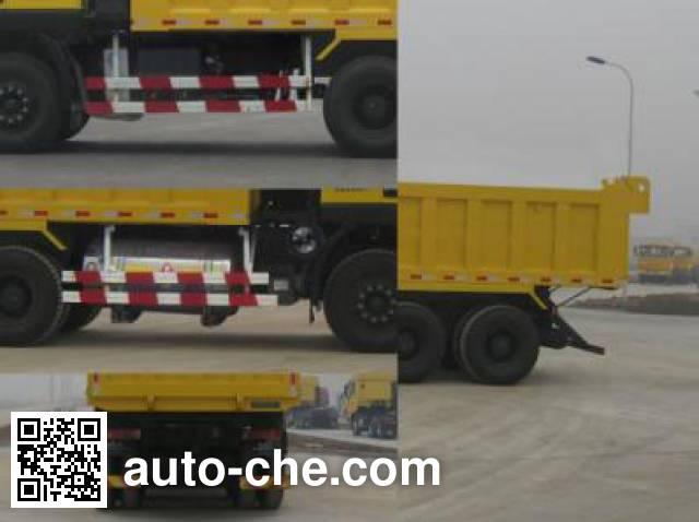 红岩牌CQ3256HTG384TBA自卸汽车