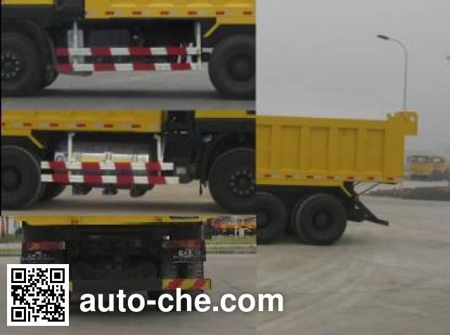 SAIC Hongyan CQ3256HTG444TB dump truck