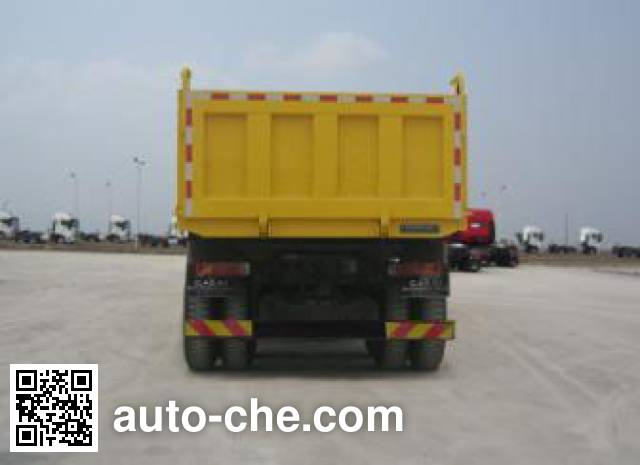 红岩牌CQ3256HTG474TB自卸汽车