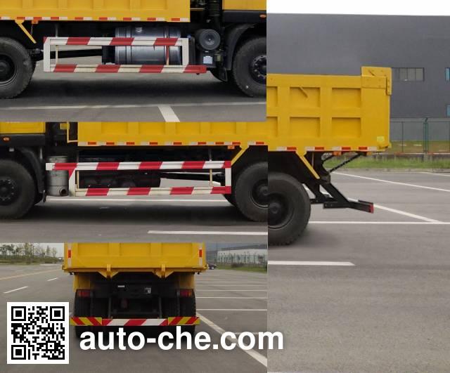 SAIC Hongyan CQ3256HXDG504L dump truck