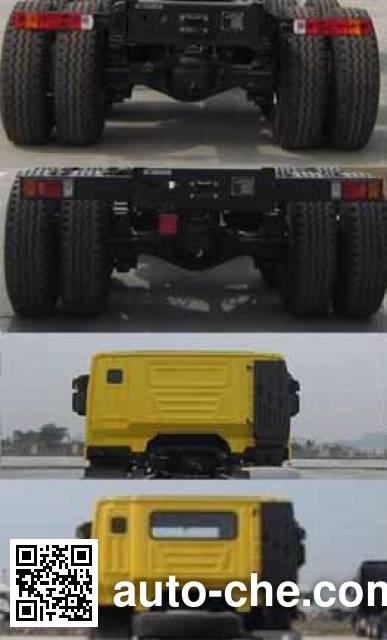 SAIC Hongyan CQ3315HTDG336S dump truck