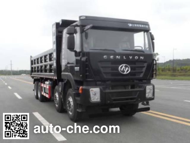 SAIC Hongyan CQ3315HXDG366BL dump truck