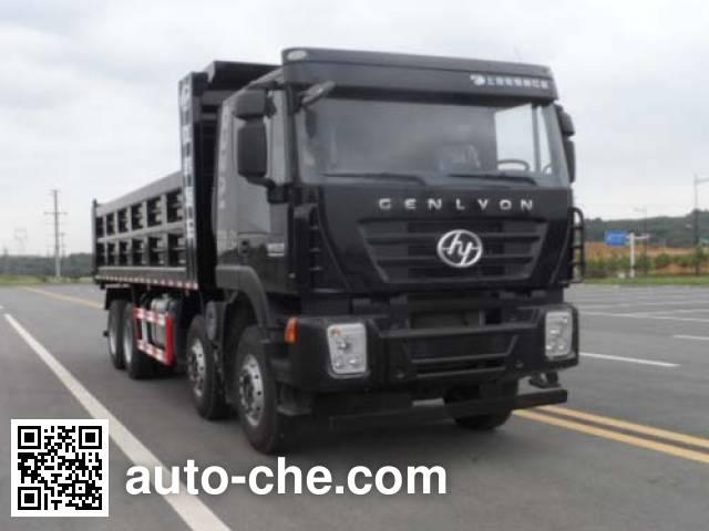SAIC Hongyan CQ3315HXDG366L dump truck