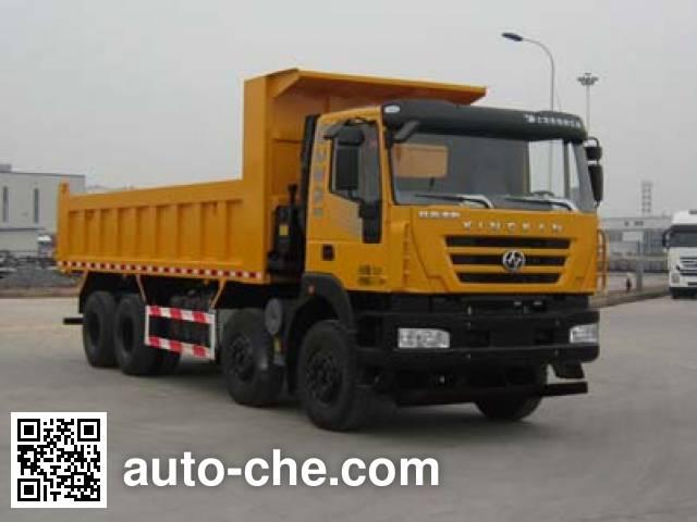 红岩牌CQ3315HXDG396L自卸汽车