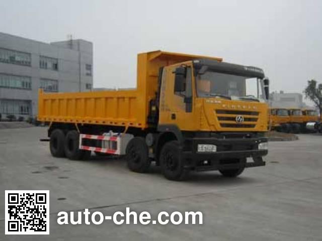 SAIC Hongyan CQ3315HXDG466L dump truck