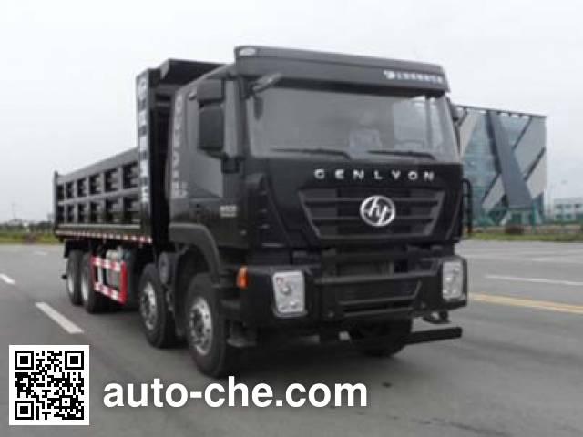 SAIC Hongyan CQ3315HXVG366BL dump truck
