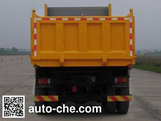 红岩牌CQ3315HXVG486L自卸汽车