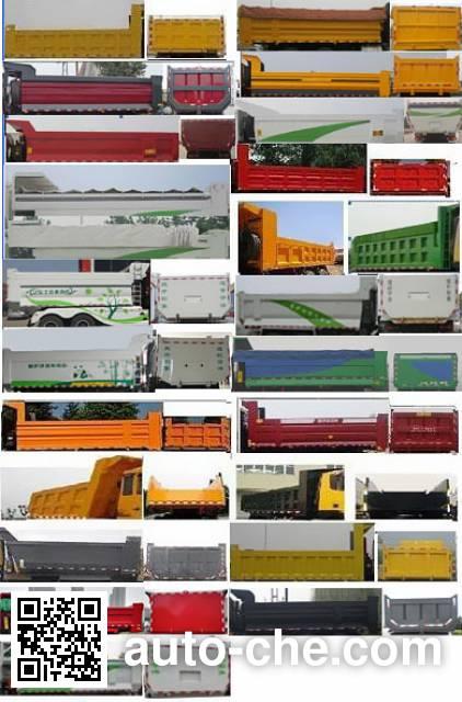 SAIC Hongyan CQ3316HXDG486L dump truck