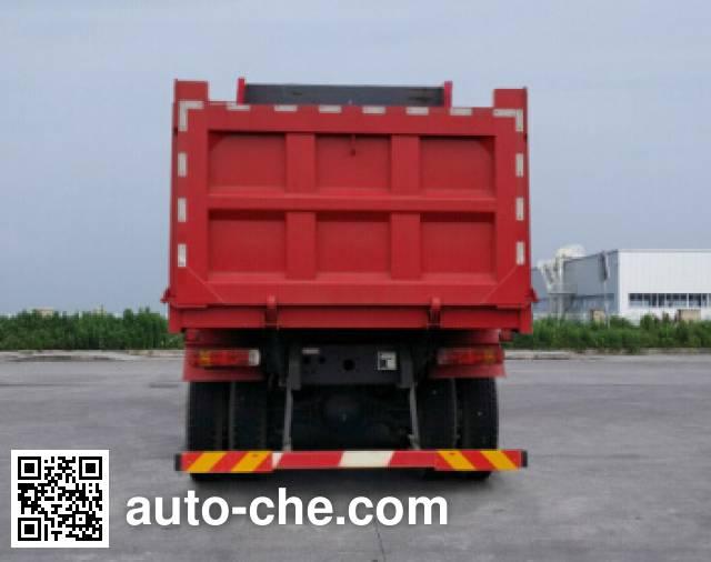 SAIC Hongyan CQ3316HTDG306L dump truck