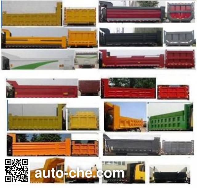 SAIC Hongyan CQ3316HTG366TB1 dump truck