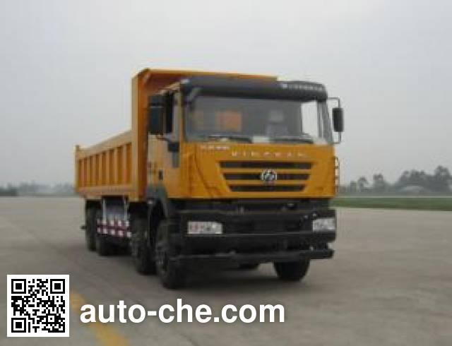 SAIC Hongyan CQ3316HTG466TB dump truck