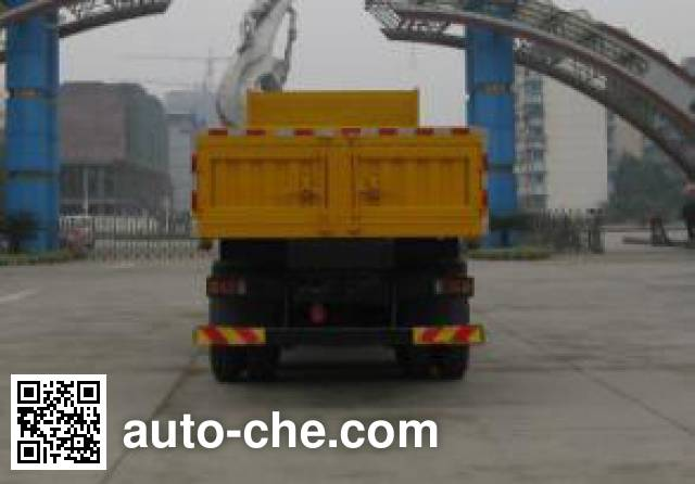 SAIC Hongyan CQ3316HTG466TBF dump truck