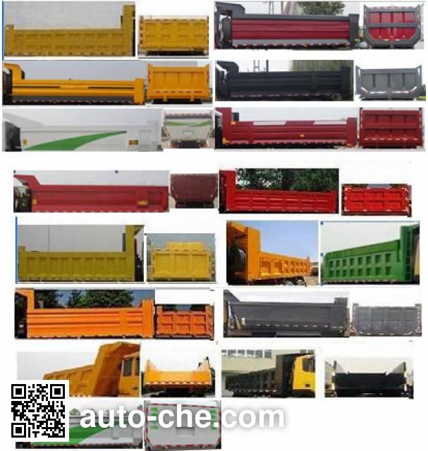 SAIC Hongyan CQ3316HTVG396L dump truck