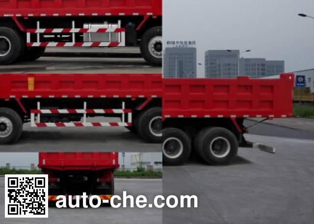 SAIC Hongyan CQ3316HXVG366L dump truck
