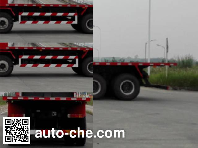 SAIC Hongyan CQ3316HXVG426B flatbed dump truck