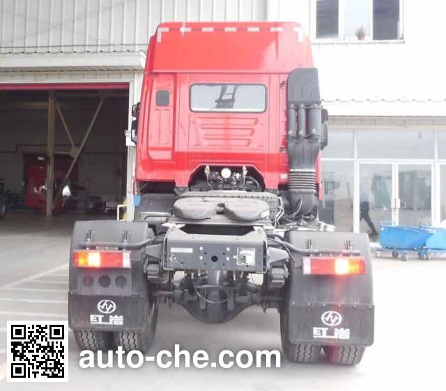 红岩牌CQ4185HTDG361C集装箱半挂牵引车