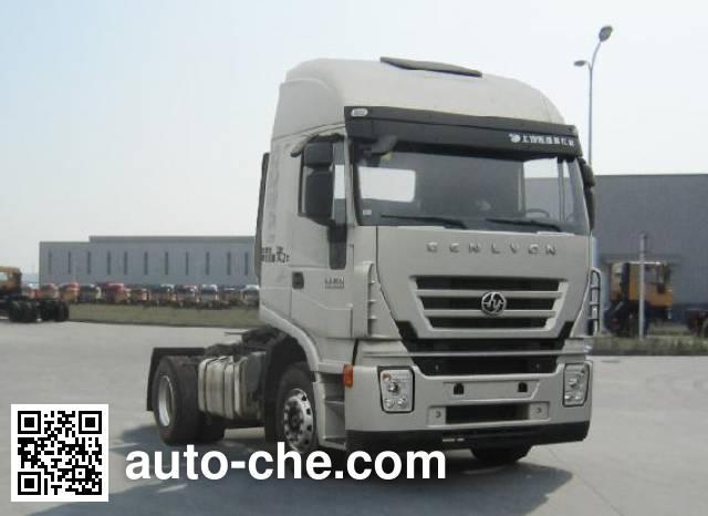 SAIC Hongyan CQ4185HXVG361C container carrier vehicle