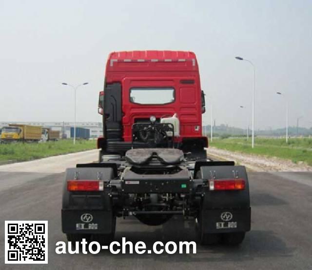 红岩牌CQ4185ZMVG361C集装箱半挂牵引车