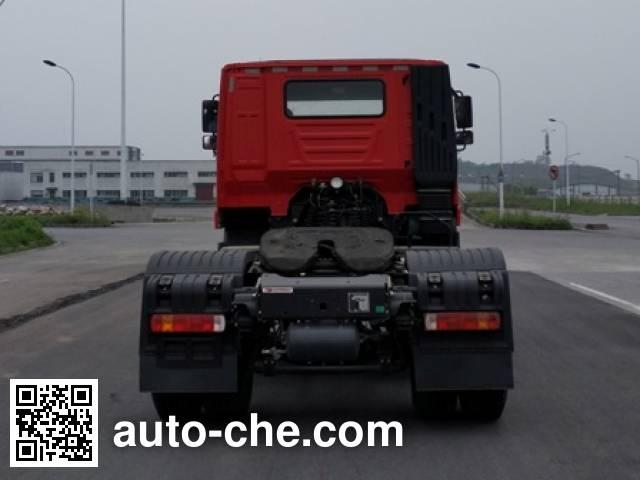 SAIC Hongyan CQ4186HMDG361C container carrier vehicle