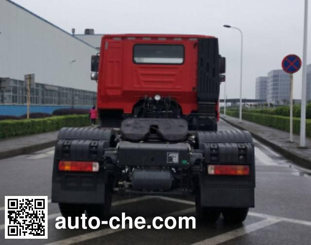 SAIC Hongyan CQ4186HMVG361C container carrier vehicle