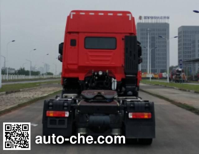 SAIC Hongyan CQ4186HTVG391C container carrier vehicle