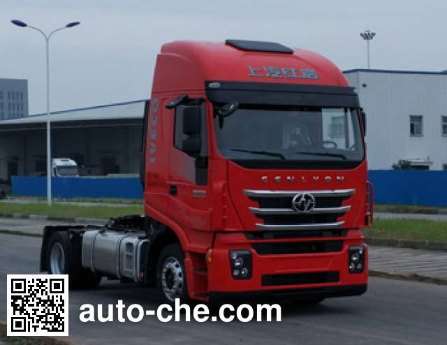 SAIC Hongyan CQ4186HXVG391C container carrier vehicle