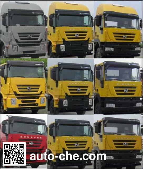 SAIC Hongyan CQ4226HTDG303TC container carrier vehicle
