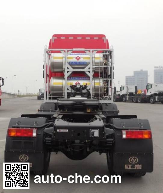 SAIC Hongyan CQ4226HTWG303TC container carrier vehicle
