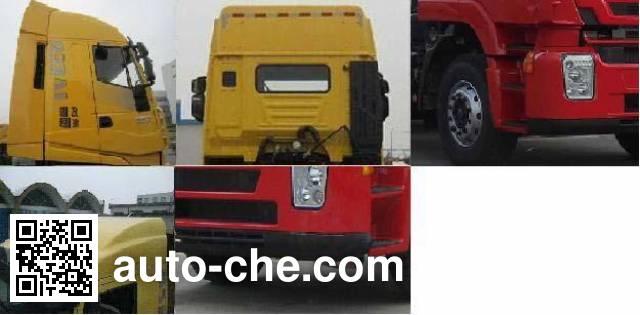 SAIC Hongyan CQ4255HTG334C container carrier vehicle