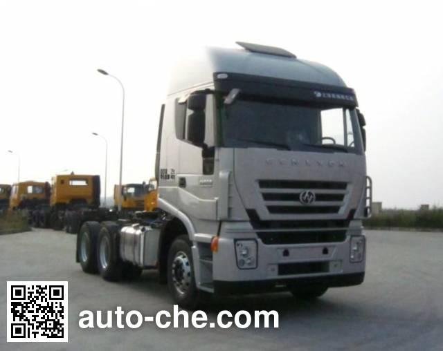 SAIC Hongyan CQ4255HTG334H tractor unit