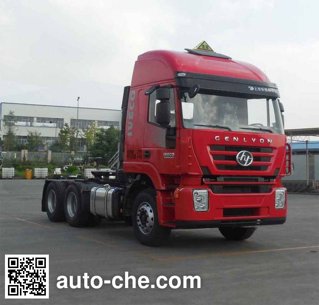 SAIC Hongyan CQ4255HTVG334U tractor unit