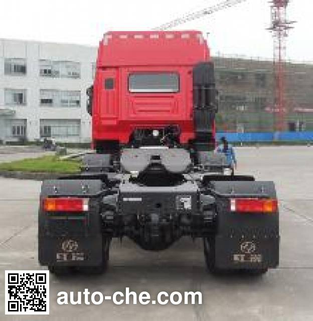 SAIC Hongyan CQ4255HXDG273C container carrier vehicle