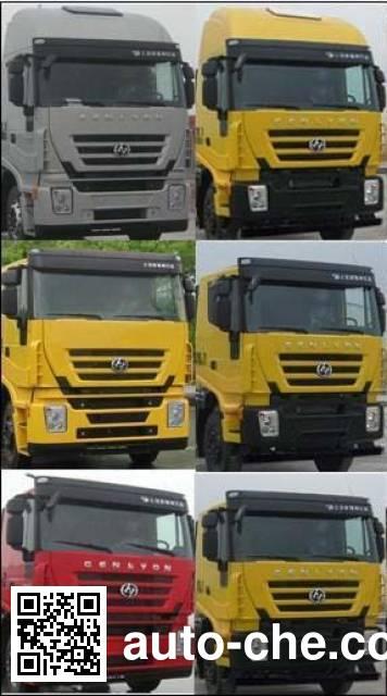 SAIC Hongyan CQ4255HXVG334C container carrier vehicle