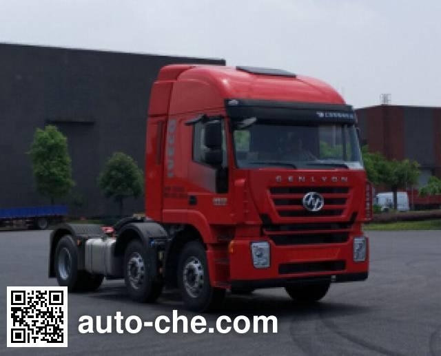SAIC Hongyan CQ4256HMDG273C container carrier vehicle