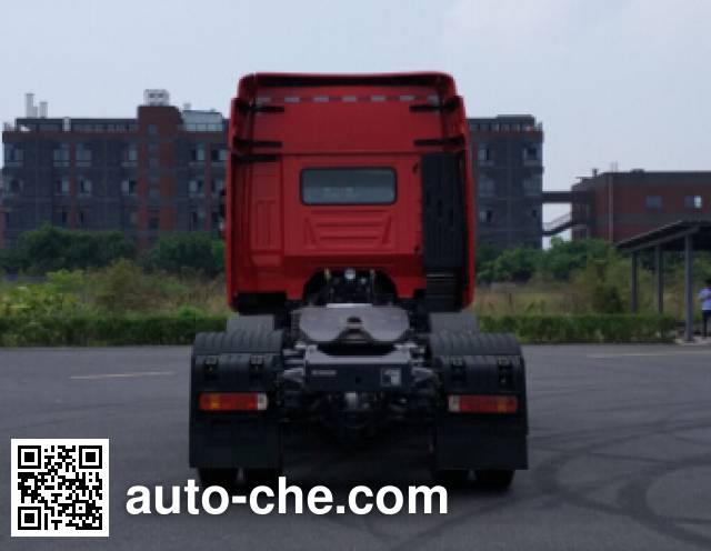 SAIC Hongyan CQ4256HMDG273U dangerous goods transport tractor unit