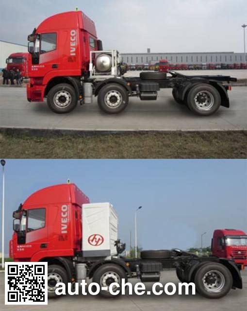 SAIC Hongyan CQ4256HTG303TAC container carrier vehicle