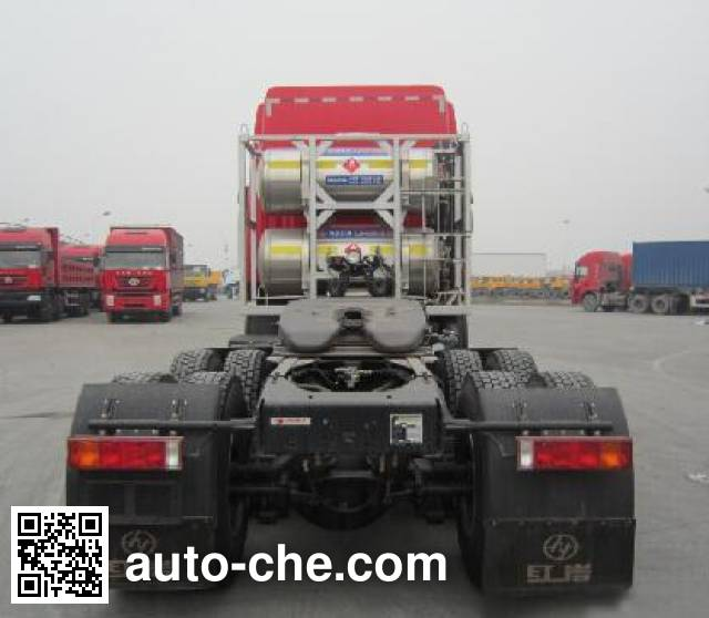 SAIC Hongyan CQ4256HTG384TAC container carrier vehicle