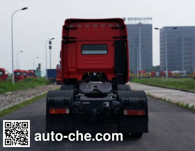 SAIC Hongyan CQ4256HTVG273U dangerous goods transport tractor unit