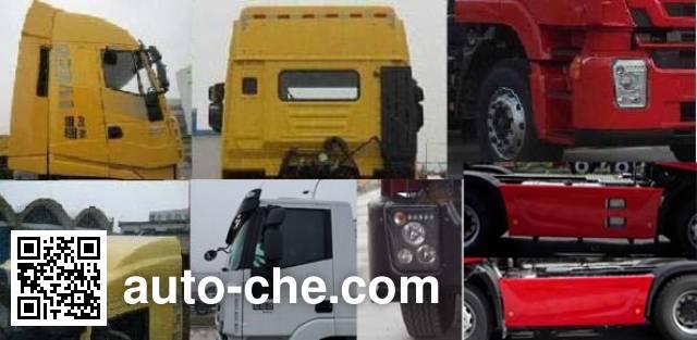 SAIC Hongyan CQ4256HTVG334C container carrier vehicle